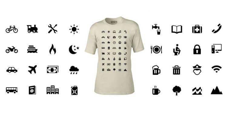 tee shirt voyage