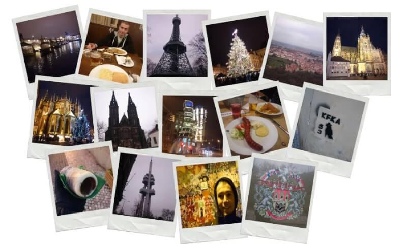 photos polaroid de Prague