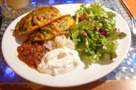 repas végétarien - prague
